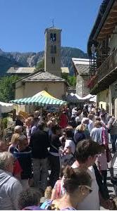 GIOVEDI' 10 AGOSTO 2017 FESTA PATRONALE DI SAN LORENZO MOSTRA MERCATO DELL'ARTIGIANATO FRAZIONE LES ARNAUDS - BARDONECCHIA (TO)
